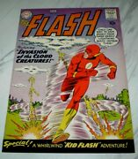 Flash 111 Nm 9.4 Cr/ow Pages 1960 Dc 2nd Kid Flash, Full Page Ad For Bandb 28