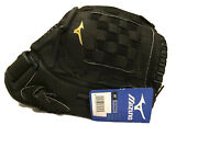 Mizuno Mmx 123p Baseball Glove Rht Size 12 Black Right Hand Throw New With Tags