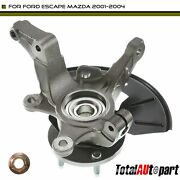 Wheel Bearing Hub Knuckle Assembly Front Right For Ford Escape Mazda 2001-2004
