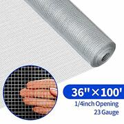 Hardware Cloth 1/4 Inch Chicken Rabbit Cage Welded Wire Mesh Roll Fence Fencing