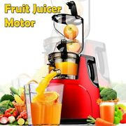 Fruit Juicer Motor Technology Large Mouth Slow Vegetable Citrus Low Speed Extrac