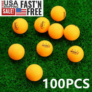 50/100pcs 3-star 40mm Table Tennis Advanced Training Ping Pong Balls Indoor Home