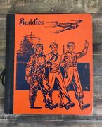 Vintage 1940's Wwii Buddies 'victory Note Book' Notebook Army Air Corps Planes