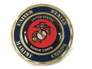 Usmc Us Marine Corps Domed Epoxy On 8th Marine Regiment Lucky Challenge Coin New