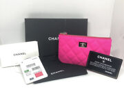 Limited Edition Hot Pink Slg Rare Color Bnib Zip Coin Purse Wallet