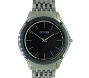 Free Shipping Pre-owned Citizen Eco-drive One Ar5000-50e 8826-t022812