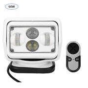 6500k 6800lm 60w Remote Control Search Light Outdoor For Car Boat