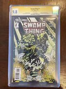 Swamp Thing 1 First Print Cgc 9.8 New 52 Scott Snyder Signed