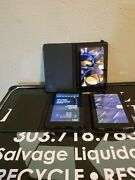 S105 Lot Of 3 Kindle Fire Ereader Tablet D01400 Wifi 8gb Hd Working Clean W/case