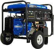 Duromax 8,500-w Portable Dual Fuel Gas Powered Electric Start Generator Home Rv
