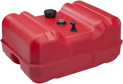 Marine Boat Fuel Tank Portable Epa Certified 12 Gallon Low-profile With Gauge