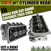 2x Cylinder Head Front Side For Jeep Wk Grandcherokee Dodge Ram 1500 2500 3500