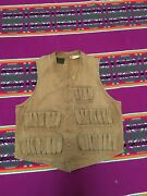 Vintage 40s Hunting Vest Good Condition Not Much Used Brown The Lm Weed Co