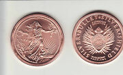 2013 Enemy Unknown Copper Round  20 Coin Roll  Silver Shield