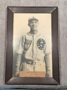 Circa 1917 Picture In Frame Sinclair Oil Refiners Semi-pro Baseball Team Manager