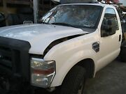 08 09 10 Ford F250 F350 Super Duty Pickup Cab With Doors White Not Truck