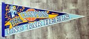 1993 Unc Tar Heels - Ncaa Final Four Champions Pennant - 30in - Nice Collectible