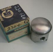 Jlo Rockwell L-227 And L-230 Oversize .020 Piston With Rings Nos Snowmax Brand