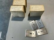 25ct Stainless Steel 1 Gang Toggle Switch Wallplate Cover Switchplate 93071 Nos