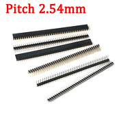 Straight/right Angle/smd 1x40 2x40 Male Pin Header Pcb Jumper Connectors 2.54mm