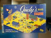 Judy's Farm Set 1946 From Judy Toys Of Minneapolis Mib Complete And Unused |