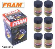 Value Pack Case Of Six 6 Fram Xg2870a Ultra Spin-on Oil Filter With Sure Grip
