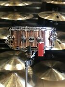Dw Factory B-stock Collectorand039s Series 6.5x14 Polished Copper Snare Drum