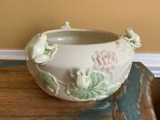 Lenox Floral Frog Bowl - Perfect Condition