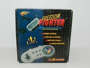 Fire Freedom Fighter Wireless Controllers For Super Nintendo Snes System Nib New