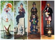 Haunted Mansion Stretched Canvas Portraits - Disney 36x12 Full Set New Tightrope