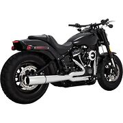 Vance And Hines - 17587 - Pro Pipe Harley-davidson Softail Deluxe Flde,softail Fat
