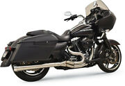 Bassani Manufacturing - 1f11ss - Long Road Rage Iii Stainless 2-into-1 Exhaust S
