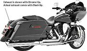 Union 2 Into 1 Full Exhaust System Right Side Harley Davidson Flt/flh 1995-2014
