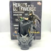 Heroes Of The Dc Universe Limited Edition Batman Bust 512/5000 - Dc Direct 2009