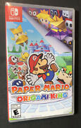 Paper Mario [ The Origami King ] Nintendo Switch New
