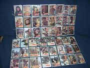 Planet Of The Apes 1975 Trading Card Lot 65 Cards Almost Complete Set