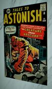 Tales To Astonish 25 Vf/nm 9.0 Ow/w Pgs 1961 Marvel Silver Age Horror/sci-fi