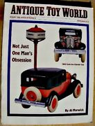 Antique Toy World Magazine Aug 1998 Toy Buses, Arcade Checker Cab, Stock Germany