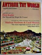 Antique Toy World Magazine August 2003 Dick Kughn, Cast Iron Trains Indian Chief