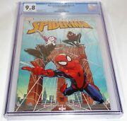 Marvel Action Spider-man 1 Cgc Universal Grade 9.8 Variant Cover C Comic Book