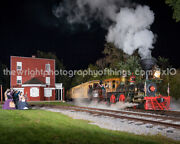 Steam Into History At Hanover Junction, Pa 8x10 Inch