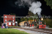 Steam Into History At Hanover Junction, Pa 8x12 Inch
