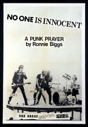 The Sex Pistols No One Is Innocent Punk Rock Vintage 1978 Promo Poster
