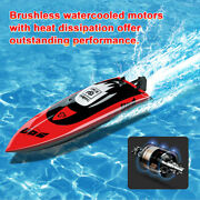 Brushless Rc Racing Boat 40 Km/h High Speed Remote Control Boat For Adult Kids