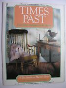 Times Past No 75american Doctor's House Quilts Colt Rifles Revolvers Decoy Duck