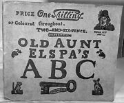 Joseph Crawhall / Old Aunt Elspa's Abc We'll Soon Learn To Read Then How 1st Ed