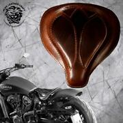Solo Seat Indian Scout Since`17+mounting Kit+springs Spider Buffalo Brown M