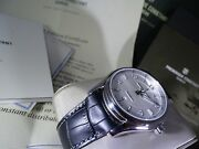 New Limited Edition Swiss Menand039s Automatic Watch Stainless Steel Rare