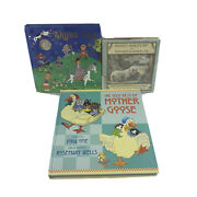 Classic Nursery Rhymes Children's Books Set Of 3 Pre-owned Hardcovers -sn