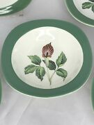 Lot Of 5 Taylor Smith Taylor Jack In The Pulpit King Oand039dell Fruit/dessert Bowls